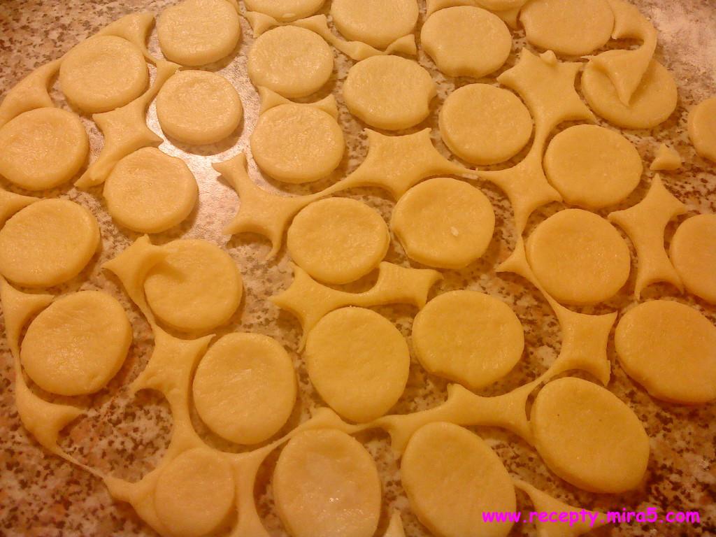 сформируйте печенья